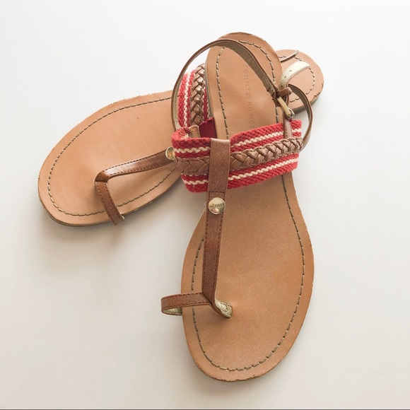 Tommy Hilfiger Shoes - Tommy Hilfiger Braided Detail Sandal • Size 6.5